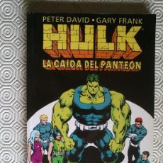 Cómics: HULK: LA CAIDA DEL PANTEON DE PETER DAVID, GARY FRANK. Lote 39108988