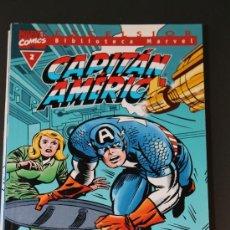 Cómics: CAPITAN AMERICA 2 BIBLIOTECA MARVEL EXCELSIOR FORUM. Lote 39118016