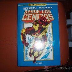 Cómics: IRON MAN 1 AL 8 DESDE LAS CENIZAS COMPLETA TOMO. Lote 45240977