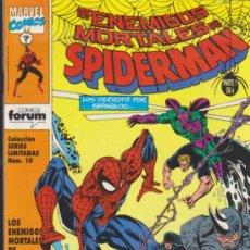 Cómics: LOS ENEMIGOS MORTALES DE SPIDERMAN Nº 1.. Lote 122017712
