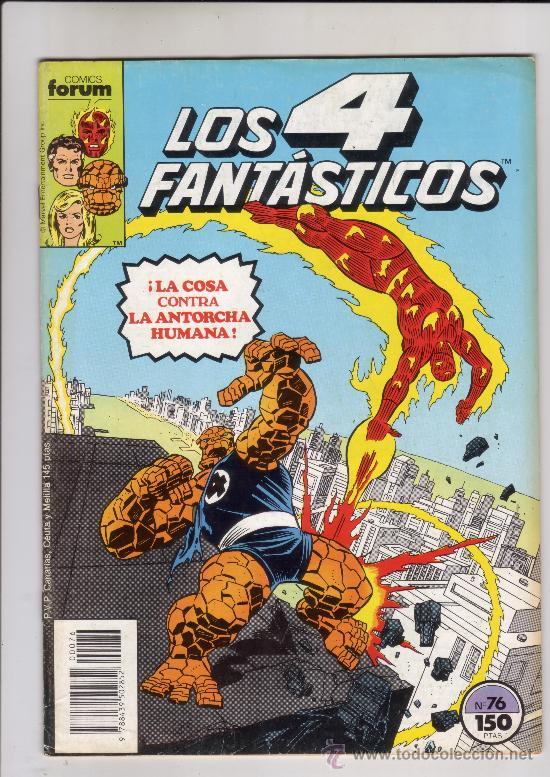 FORUM - 4 FANTASTICOS VOL.1 NUM. 76 (Tebeos y Comics - Forum - 4 Fantásticos)