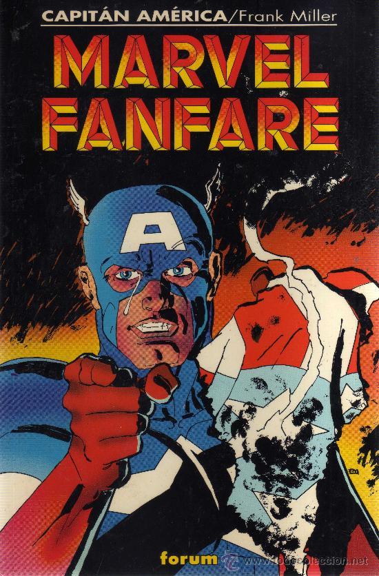 MARVEL FANFARE (CAPITÁN AMÉRICA, FRANK MILLER, FORUM) (Tebeos y Comics - Forum - Otros Forum)