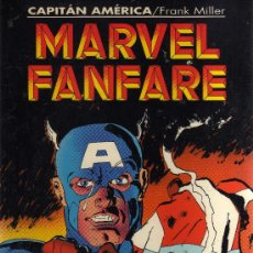 Cómics: MARVEL FANFARE (CAPITÁN AMÉRICA, FRANK MILLER, FORUM). Lote 39176851