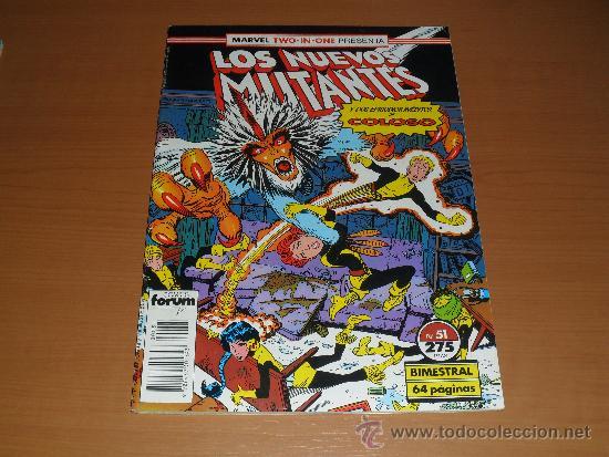 LOS NUEVOS MUTANTES Nº 51 - FORUM (Tebeos y Comics - Forum - Nuevos Mutantes)