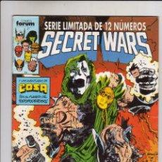 Cómics: FORUM - SECRET WARS NUM. 10 ( 2ª EDICION ). Lote 39322050