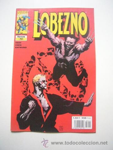 LOBEZNO VOL. 2 Nº 70 FRANK TIERI Y SEAN CHEN MARVEL FORUM C43 (Tebeos y Comics - Otros Forum)
