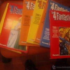 Cómics: LOS 4 FANTASTICOS VOL.3 DEL 1 AL 34 EN 7 RETAPADOS. Lote 39375212