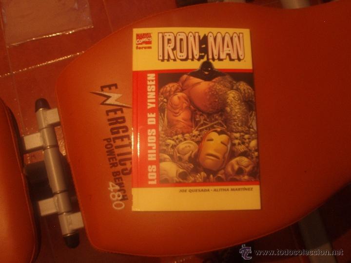 IRON MAN LOS HIJOS DE YINSEN (Tebeos y Comics - Forum - Iron Man)
