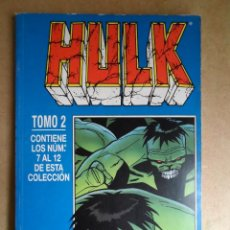 Cómics: +++ HULK - TOMO 2 - EDIT. PLANETA DEAGOSTINI - EDICIÓN AÑO 2000 - (COMICS FORUM). Lote 39419275