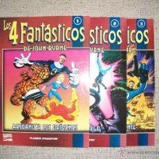 Cómics: COLECCIONABLE LOS 4 FANTÁSTICOS Nº 1, 2 Y 3 (FÓRUM CÓMICS MARVEL FANTASTIC FOUR). Lote 39831492