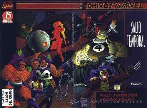 ARCHIVOS MARVEL - 2 TOMOS - COMPLETA - FORUM - 4 FANTÁSTICOS (Tebeos y Comics - Forum - Prestiges y Tomos)