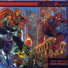 Cómics: ARCHIVOS SPIDERMAN - 3 TOMOS - COMPLETA - FORUM. Lote 39478807