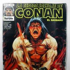 Cómics: LA ESPADA SALVAJE DE CONAN EL BARBARO Nº 95 * SERIE ORO COMICS FORUM. Lote 39499666
