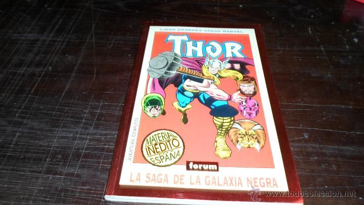 LIBRO GRANDES SAGAS MARVEL. THOR, TOM DEFALCO, RON FRENZ (Tebeos y Comics - Forum - Prestiges y Tomos)