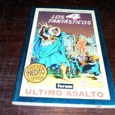 Cómics: LIBRO GRANDES SAGAS MARVEL, LOS 4 FANTASTICOS, TOM DEFALCO, PAUL RYAN. Lote 39498827