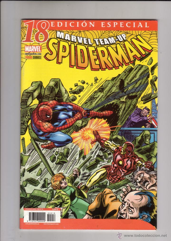 PANINI - SPIDERMAN MARVEL TEAM-UP VOL.1 NUM. 18 ( ).DIFICIL (Tebeos y Comics - Forum - Spiderman)