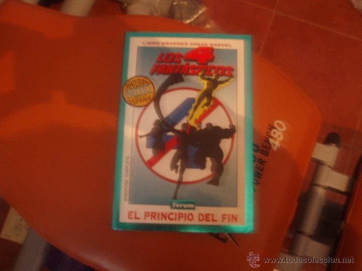 GRANDES SAGAS MARVEL LOS 4 FANTASTICOS EL PRINCIO DEL FIN(Tebeos y Comics - Forum - 4 Fantásticos)