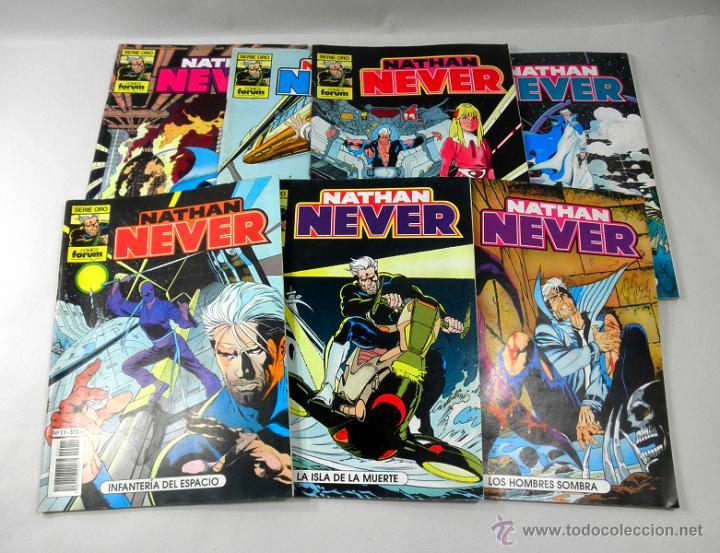 LOTE DE 7 COMICS NATHAN NEVER NUMEROS 11 * 4 * 8 * 19 * 13 * 6 * 10 (Tebeos y Comics - Forum - Otros Forum)