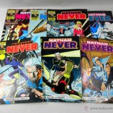 Cómics: LOTE DE 7 COMICS NATHAN NEVER NUMEROS 11 * 4 * 8 * 19 * 13 * 6 * 10. Lote 39656875