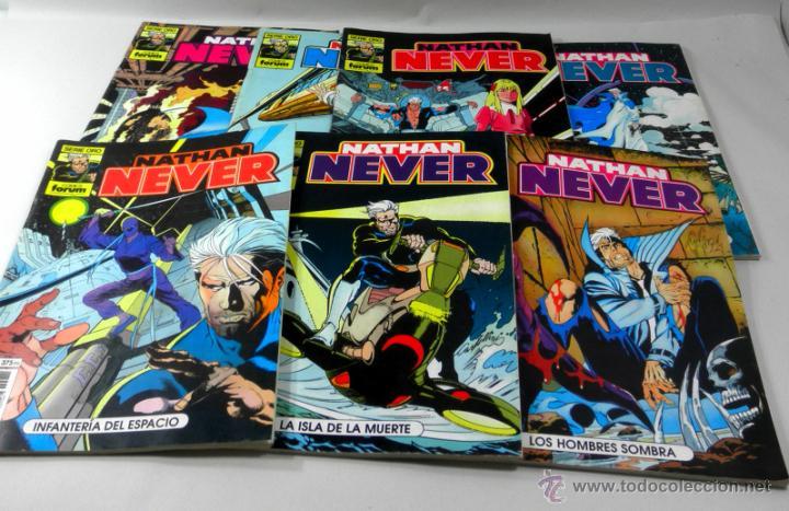 Cómics: LOTE DE 7 COMICS NATHAN NEVER NUMEROS 11 * 4 * 8 * 19 * 13 * 6 * 10 - Foto 2 - 39656875