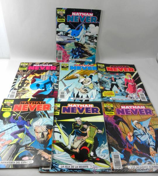 Cómics: LOTE DE 7 COMICS NATHAN NEVER NUMEROS 11 * 4 * 8 * 19 * 13 * 6 * 10 - Foto 3 - 39656875