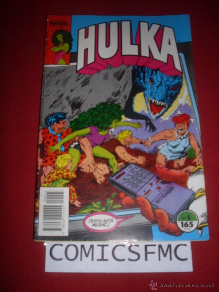 FORUM HULKA NUMERO 5 (Tebeos y Comics - Forum - Hulk)
