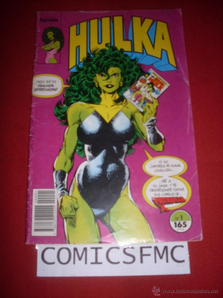 FORUM HULKA NUMERO 1 (Tebeos y Comics - Forum - Hulk)