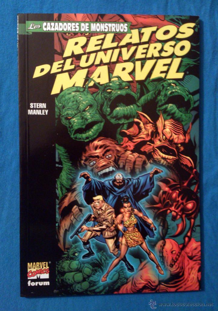 RELATOS DEL UNIVERSO MARVEL VOL. 1 # 2 (FORUM) - LOS CAZADORES DE MONSTRUOS - FORMATO PRESTIGIO (Tebeos y Comics - Forum - Prestiges y Tomos)