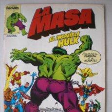 Cómics: LA MASA (VOL 1) 16. Lote 39786402
