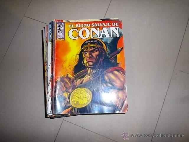 EL REINO SALVAJE DE CONAN FORUM LOTE DEL 1 AL 29 COMPLETO (Tebeos y Comics - Forum - Conan)