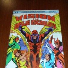 Cómics: EXTRA SUPERHEROES - VISIÓN Y BRUJA DE ESCARLATA - COMICS FORUM. Lote 39811603