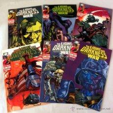 Cómics: LOTE DE 6 COMICS * THE LIGHT AND DARKNESS WAR DEL 1 AL 6 * FORUM EPIC SERIES. Lote 39828464