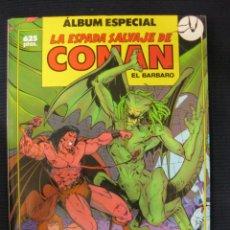 Cómics: ALBUM ESPECIAL. LA ESPADA SALVAJE DE CONAN EL BARBARO.CON TRES NUMEROS: 74-75-76. EXTRA FORUM.. Lote 39823497