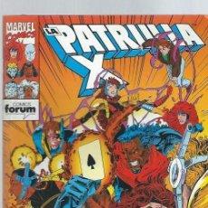 Cómics: LA PATRULLA X, EL REGRESO DE LOS ACÓLITOS, FORUM Nº 137. Lote 39905273
