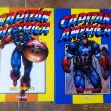 Cómics: CAPITAN AMERICA HEROES REBORN COMPLETA EN 2 RETAPADOS 12 NÚMEROS. Lote 39902096