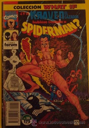 ¿Y SI KRAVEN EL CAZADOR HUBIESE MATADO A SPIDERMAN? Nº 26 AÑO 1990 (Tebeos y Comics - Forum - Spiderman)