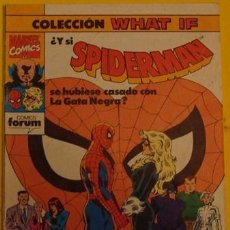 Cómics: ¿Y SI SPIDERMAN SE HUBIESE CASADO CON LA GATA NEGRA? Nº 30 AÑO 1991. Lote 194107923
