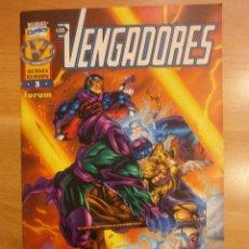 Cómics: LOS VENGADORES HEROES REBORN Nº 3. Lote 39967217