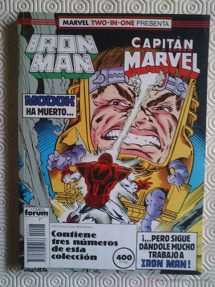 IRON MAN Volumen 1 numeros 47, 48, 49 de Denny O'Neal, Mark Bright, Gerry  Conway, Wayne Boring