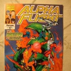 Comics: MARVEL COMIC FORUM ALPHA FLIGHT Nº 17. Lote 39973190
