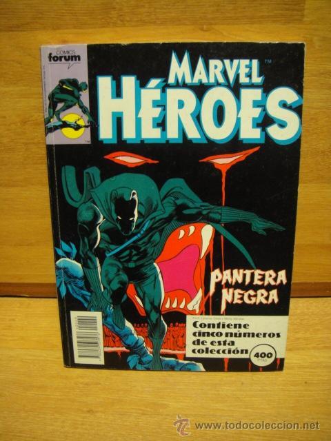 MARVEL HEROES - FORUM RETAPADO Nº 45 - 46 - 47 - 48 - 49 (Tebeos y Comics - Forum - Retapados)