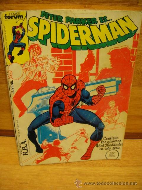SPIDERMAN - FORUM RETAPADO Nº 46 - 47 - 48 - 49 (Tebeos y Comics - Forum - Retapados)
