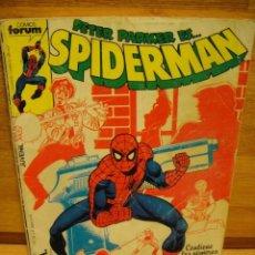 Cómics: SPIDERMAN - FORUM RETAPADO Nº 46 - 47 - 48 - 49. Lote 39978983