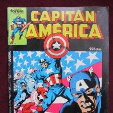 Cómics: CAPITÁN AMERICA ESPECIAL VERANO 1987. CÓMICS FORUM. BASTANTE BUENO CON POSTER CENTRAL. Lote 40004031