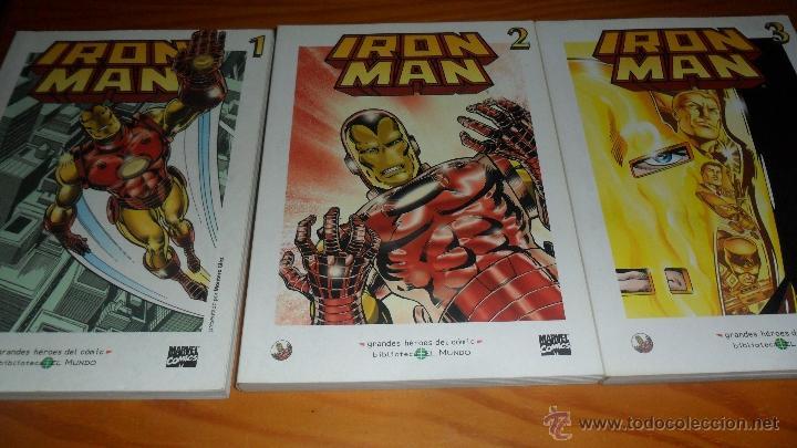 IRON-MAN, 3 TOMOS CON EL MATERIAL ESENCIAL DEL PERSONAJE, INCLUYE TALES OF SUSPENSE 39 AL 46 USA.... (Tebeos y Comics - Forum - Iron Man)