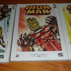 Cómics: IRON-MAN, 3 TOMOS CON EL MATERIAL ESENCIAL DEL PERSONAJE, INCLUYE TALES OF SUSPENSE 39 AL 46 USA..... Lote 40047225