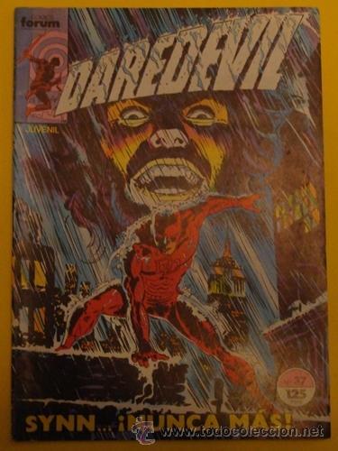 DAREDEVIL EL HUNDIMIENTO NO.37 AÑO 1984 (Tebeos y Comics - Forum - Daredevil)