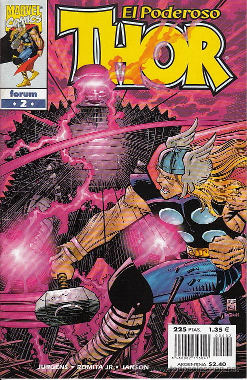 Cómics: THOR vol.3 # 2 (Forum,1999) - JOHN ROMITA JR - Foto 1 - 40083150