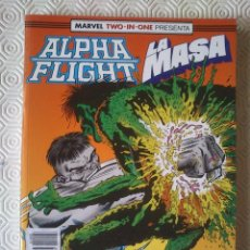 Cómics: ALPHA FLIGHT / LA MASA VOLUMEN 1 NUMERO 51, 52, 53 DE BILL MANTLO, JIM LEE, PETER DAVID.... Lote 208214408