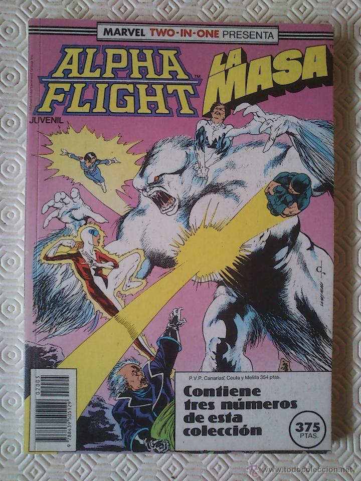 ALPHA FLIGHT / LA MASA VOLUMEN 1 NUMERO 39, 40, 41 DE BILL MANTLO, DAVID ROSS, AL MILGROM... (Tebeos y Comics - Forum - Alpha Flight)